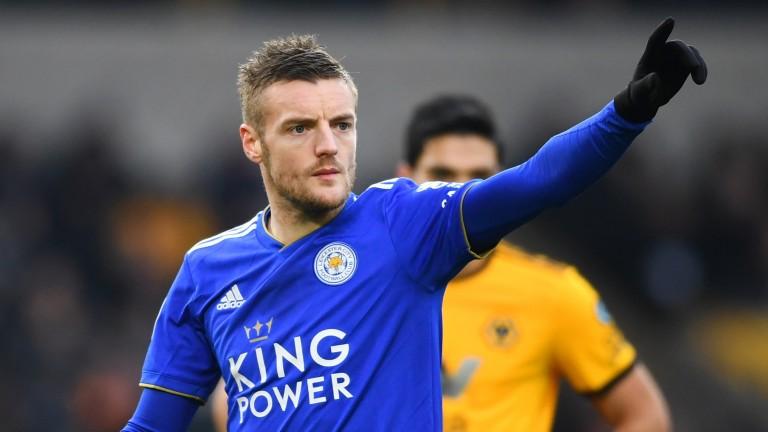 Jamie Vardy of Leicester City