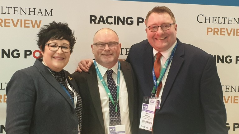 Rob Mabbett (right): former Betting Shop Manager of the Year