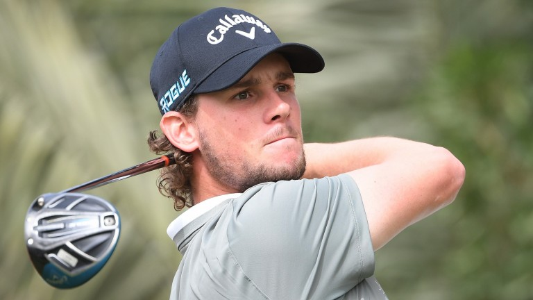 Thomas Pieters has been full of composure in recent months