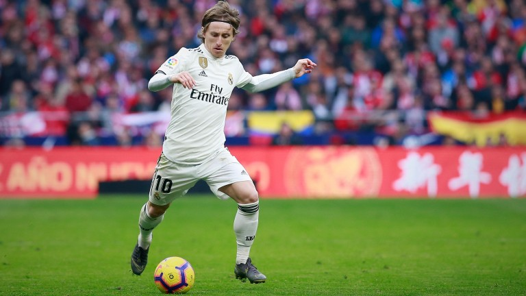 2018 Ballon d'Or winner Luka Modric can pull the strings in midfield for Real Madrid against Ajax