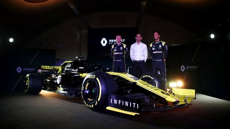 Renault unveil their 2019 Formula One car