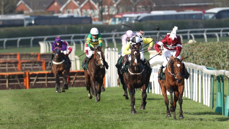 Tiger Roll: Last year's winner (right) set to be try and win the Grand National again