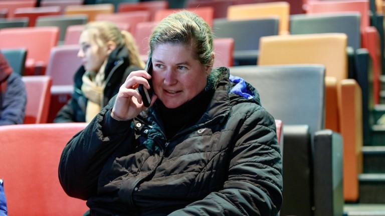 Larissa Kneip: oversees a varied roster at Haras de Saint-Arnoult