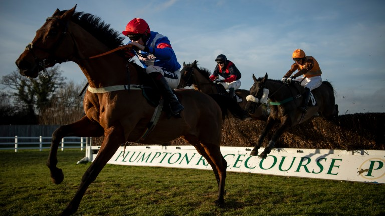 It was back to business for racing at Plumpton on Wednesday