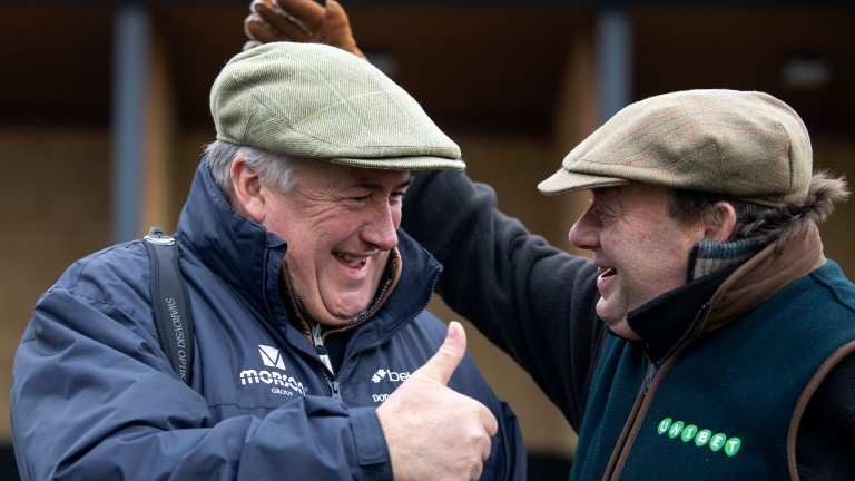 Paul Nicholls and Nicky Henderson: leading the British challenge at Cheltenham