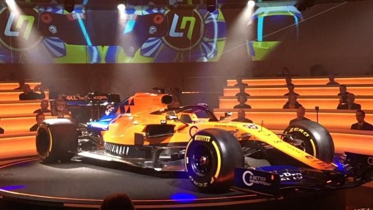 The 2019 McLaren Renault is unveiled