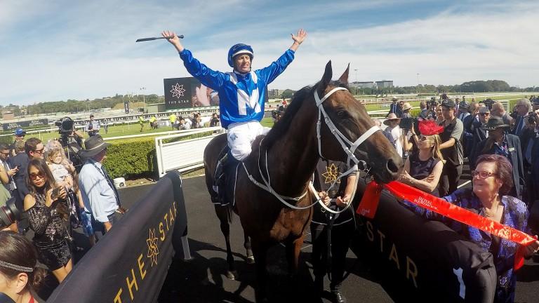 Hugh Bowman and Winx make a triumphant return