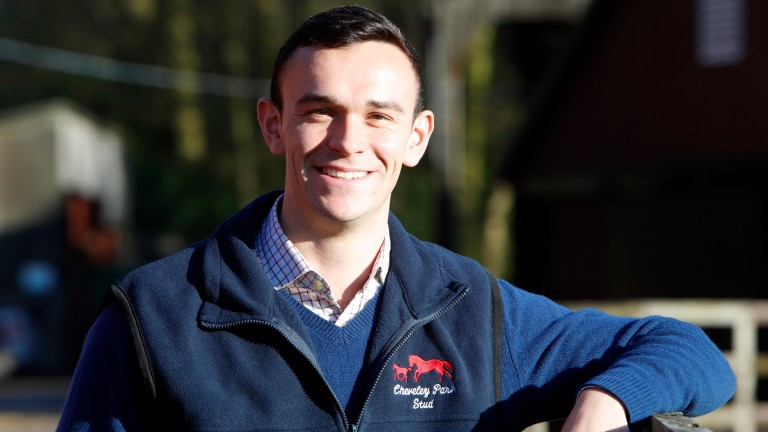 Max McLoughlin: completed the Entry To Stud Employment (E2SE) training at the National Stud before joining Cheveley Park Stud as junior management assistant