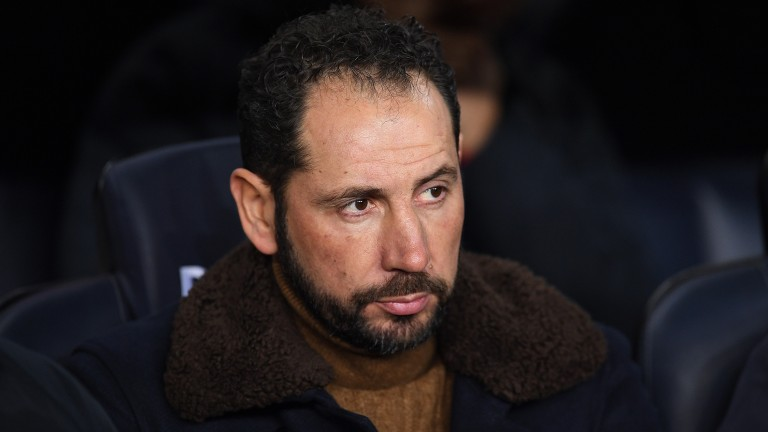 Sevilla boss Pablo Machin will be hoping his side can finish the job against Lazio in the Europa League