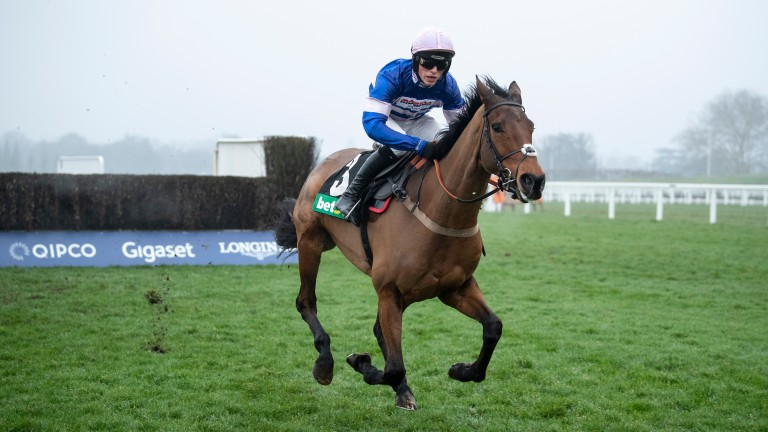 Cyrname: improving chaser rated 3lb higher than Altior