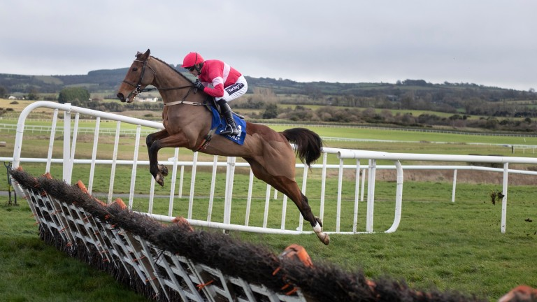 Laurina and Ruby Walsh on their way to victory at Punchestown