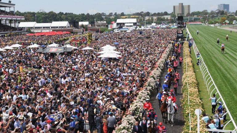 Flemington will be empty for Tuesday's Melbourne Cup with no racegoers in attendance due to Covid restrictions