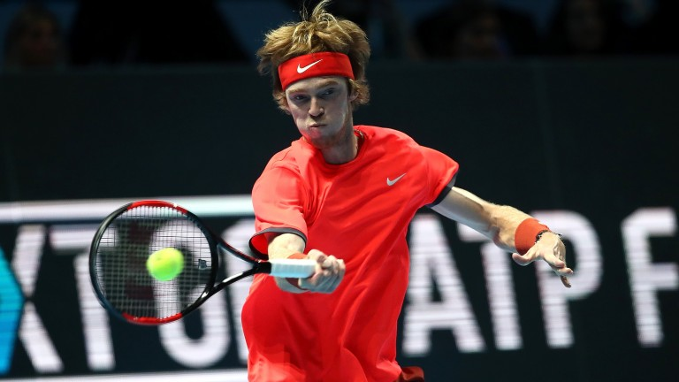 Andrey Rublev looks back to his best