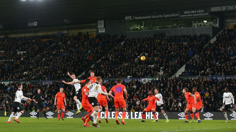 Derby and Millwall battle it out at Pride Park