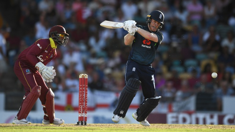 Eoin Morgan's fluent 70 couldn't prevent England's defeat in the second ODI
