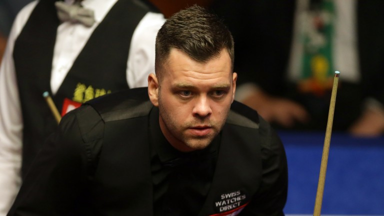 Jimmy Robertson looks ready to land another ranking title