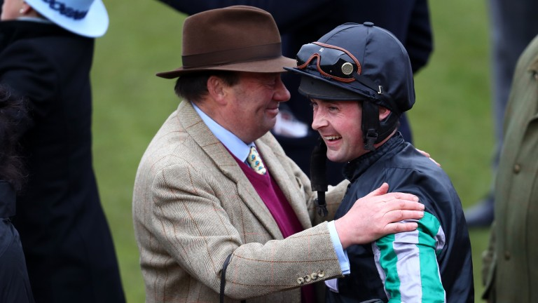 Sponsored: Nicky Henderson and Nico de Boinville are both Unibet ambassadors