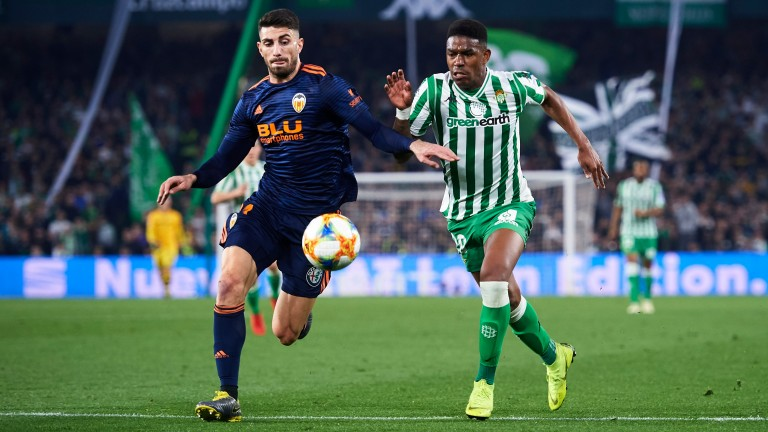 There was little to separate Valencia and Betis in the first leg