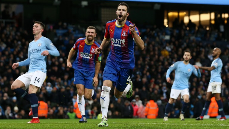 Crystal Palace beat Manchester City 3-2 in December despite losing the shot count 19-5