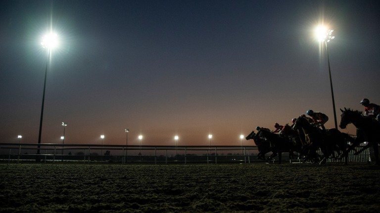 Kempton: apprentice Ryan Moore suffered a nasty fall at the track on Wednesday evening