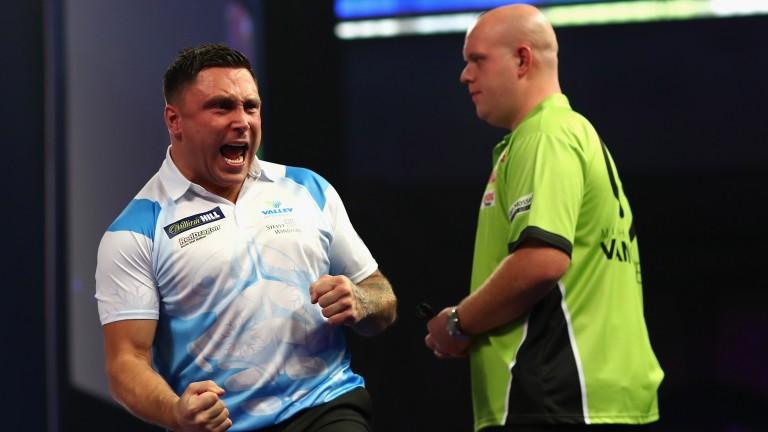 Gerwyn Price (left) has been in great form in floor events