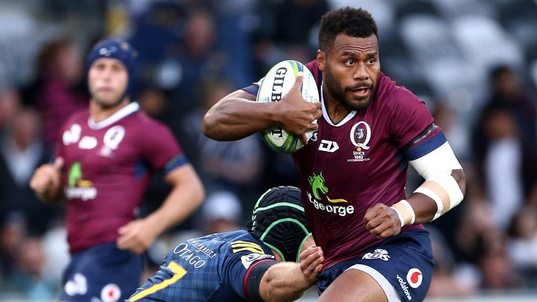 The Queensland Reds ran in four tries against the Highlanders in round two