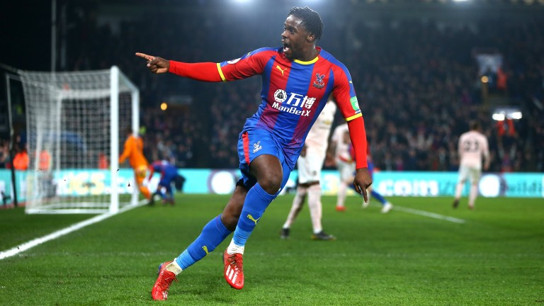 Jeffrey Schlupp could be a goal threat from midfield for Crystal Palace