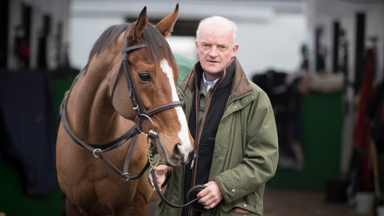 Faugheen is on course to run in the Stayers? Hurdle, along with Bacardys