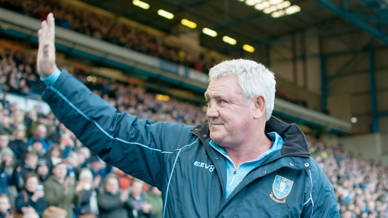 Steve Bruce's Sheffield Wednesday are still in the hunt for a playoff spot