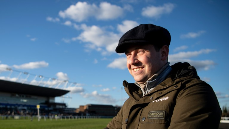 Olly Murphy: trainer of Notre Pari and Bon Calvados