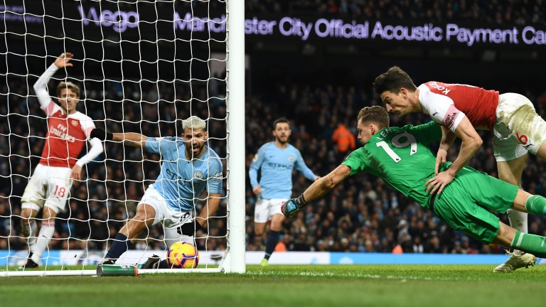 Sergio Aguero hat-trick goal against Arsenal would not have counted under next season's guidelines