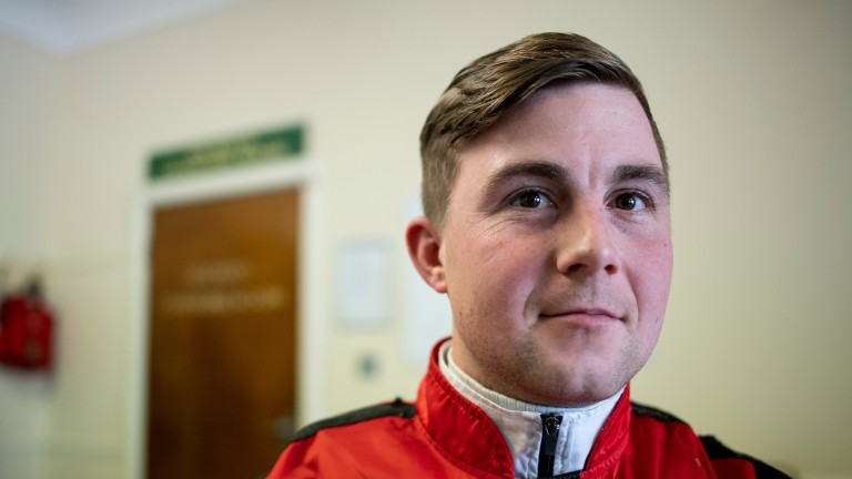 Danny Brock: will spend a day of his ban getting remedial training in whip use at the British Racing School