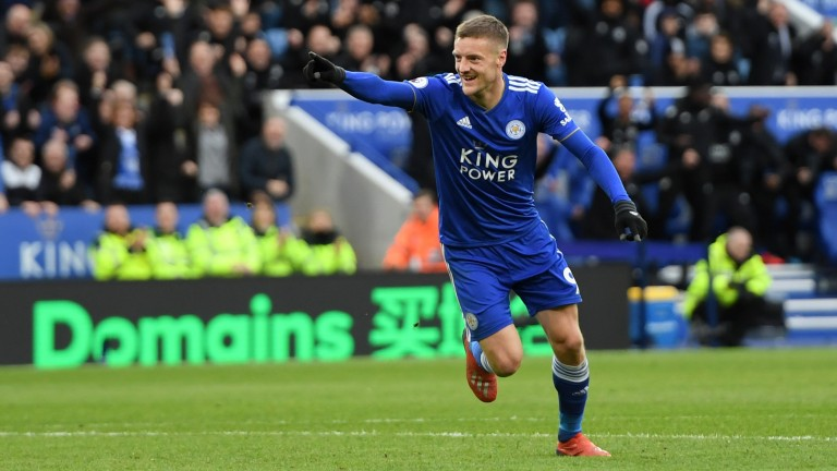 Leicester City's Jamie Vardy has been in good form