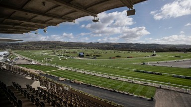 General scene ahead of the opening day of the festival.CheltenhamPhoto: Patrick McCann/Racing Post 11.03.2019
