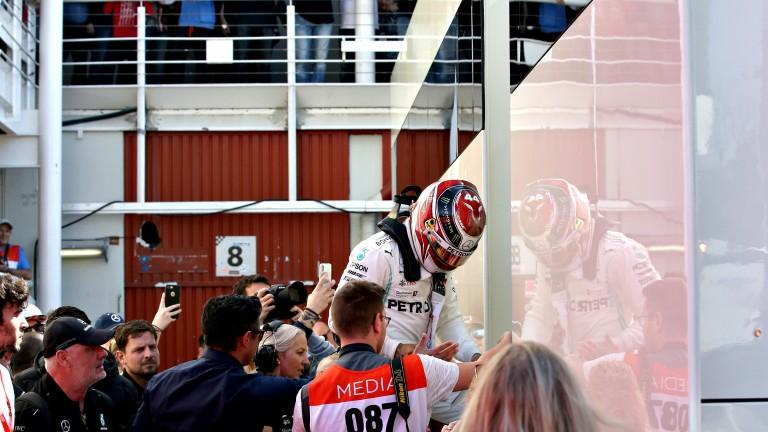 World champion Lewis Hamilton is always in demand
