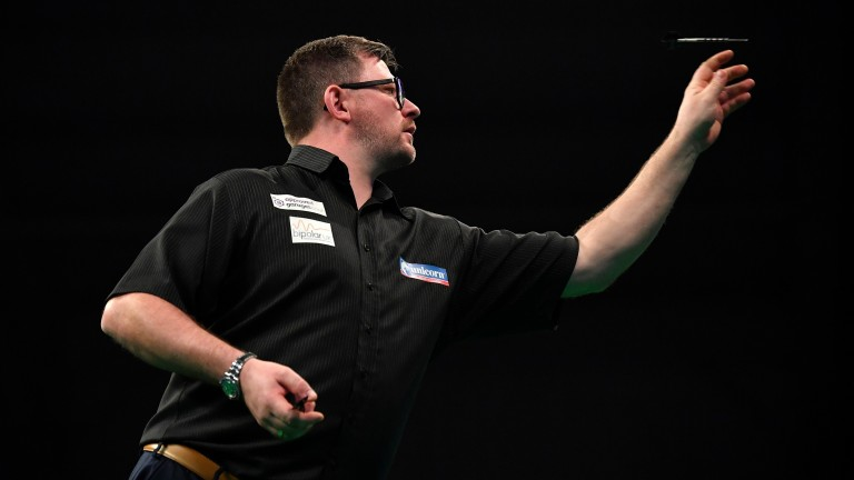 James Wade insists there's nobody better than him when he's on his game