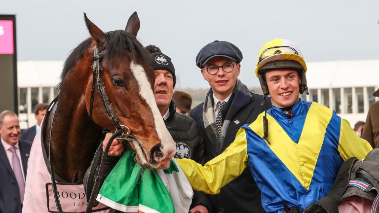 Band Of Outlaws gave trainer Joseph O'Brien a festival success