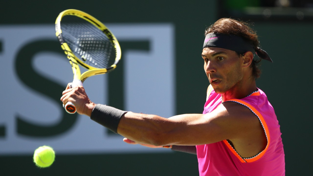 f3f49aaef7580 Rafael Nadal has a big chance to continue his Indian Wells title charge