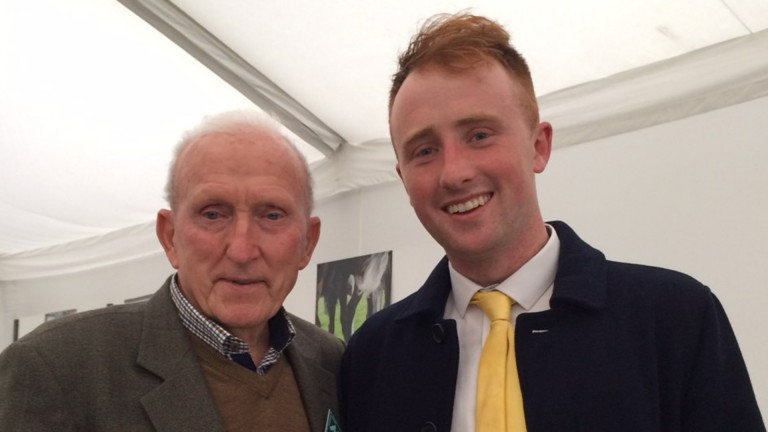 Michael Conaghan and grandson Micheal were in seventh heaven at Cheltenham