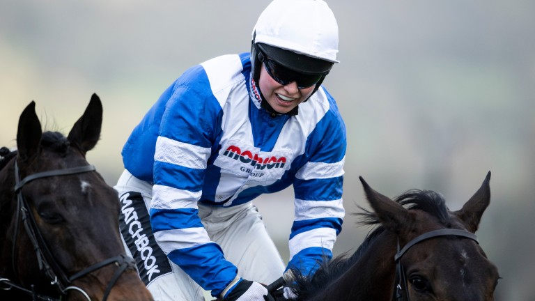 """She has just got better and better and better"" - Paul Nicholls on Bryony Frost after her victory on Frodon"