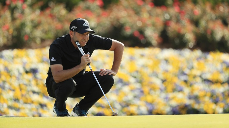 Sergio Garcia putted superbly at Sawgrass on Sunday