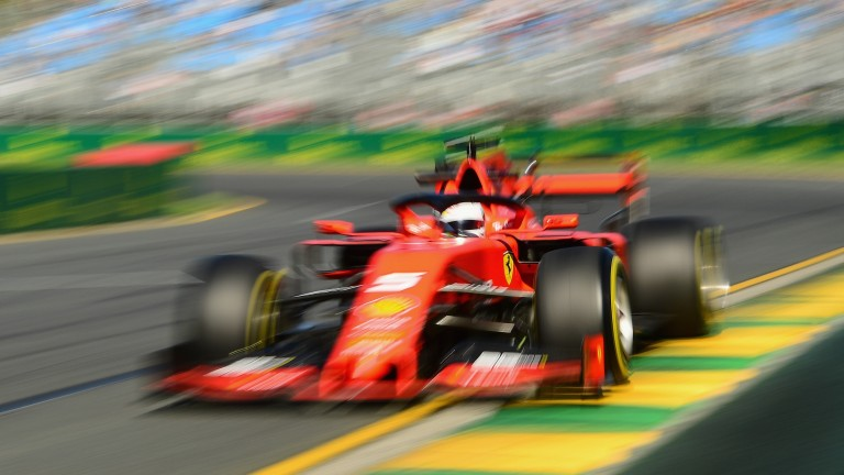 Sebastian Vettel and Ferrari may not have shown their true pace yet in Australia