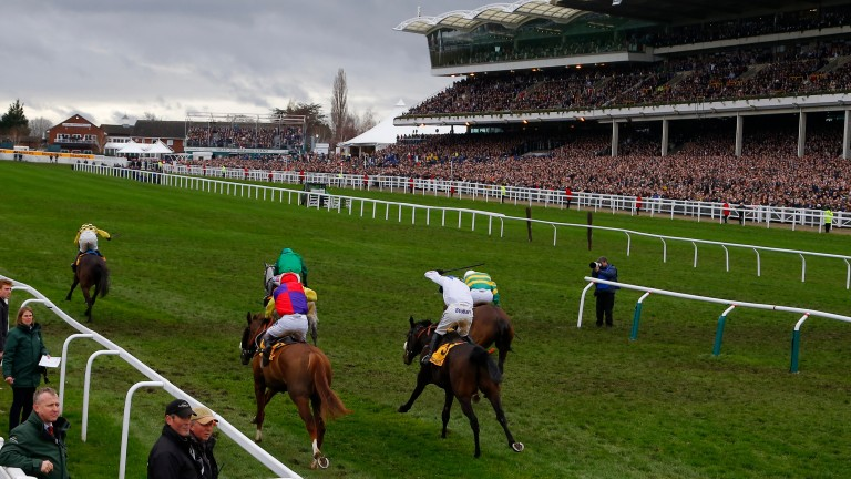 Al Boum Photo asserts on the run-in as he lands the Gold Cup