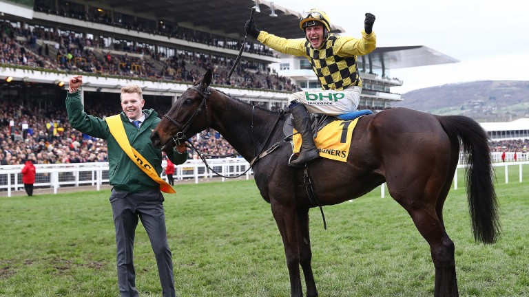 Al Boum Photo: gave Paul Townend something to celebrate with victory in the Cheltenham Gold Cup