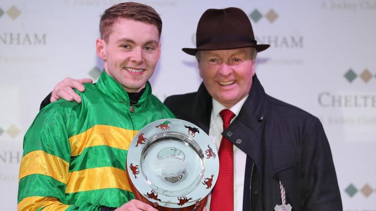 Jonjo O'Neill jnr: enjoyed a first Cheltenham Festival winner in the Martin Pipe last season