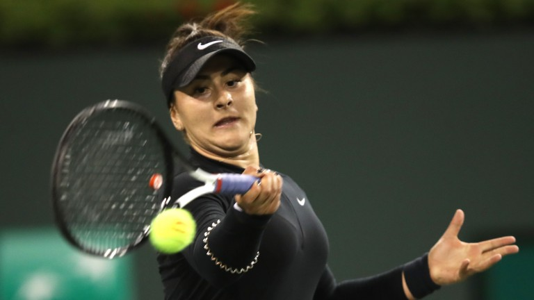 Bianca Andreescu is the first wild-card to reach a singles final at Indian Wells