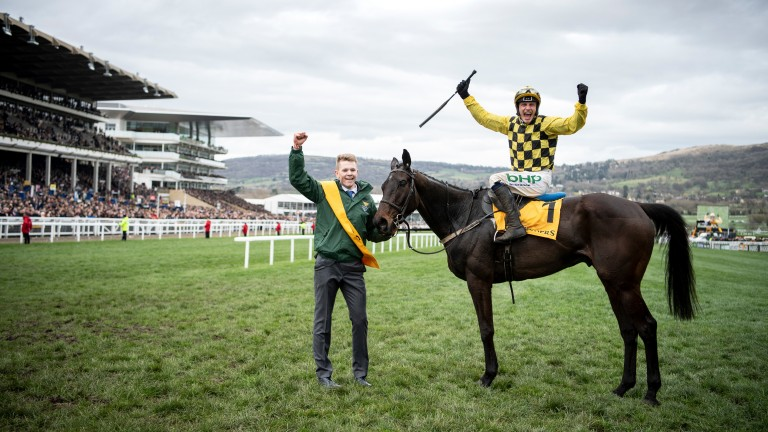 That winning feeling: Al Boum Photo and Paul Townend bask in Gold Cup glory