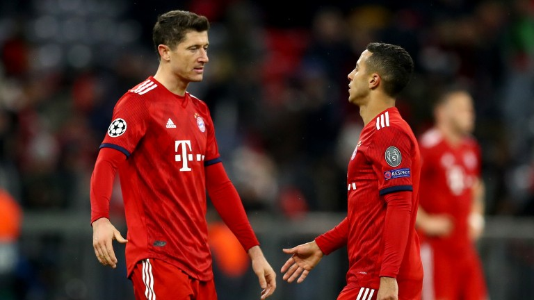 Bayern Munich can respond to their Champions League exit with an emphatic Bundesliga win