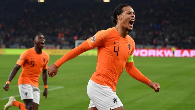 Virgil van Dijk's Holland could be dark horses at Euro 2020