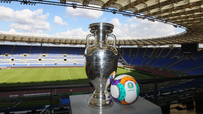The trophy awaits the Euro 2020 winners